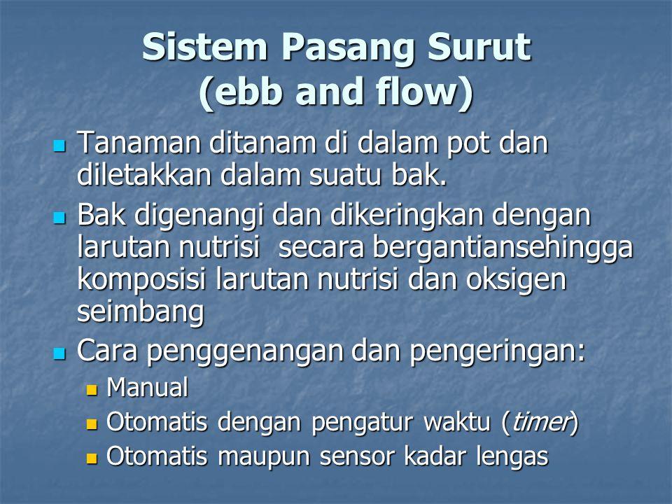 Sistem Pasang Surut (ebb and flow)