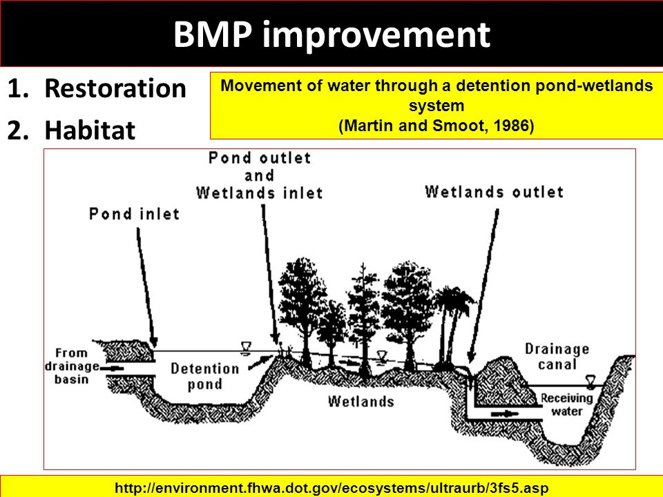 BMP improvement Restoration Habitat