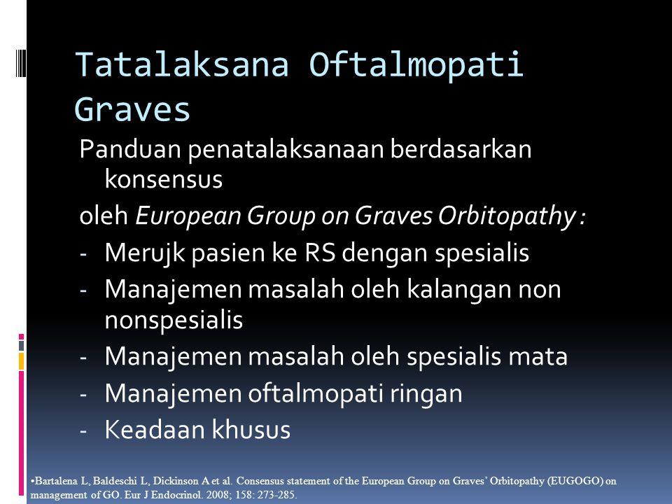 Tatalaksana Oftalmopati Graves
