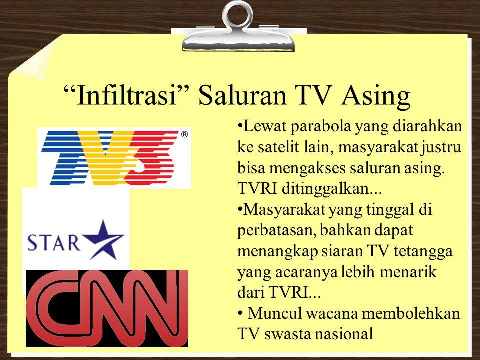 Infiltrasi Saluran TV Asing