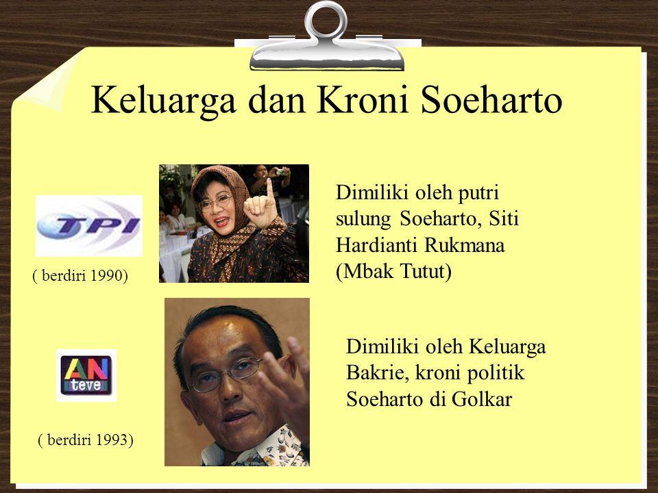 Keluarga dan Kroni Soeharto