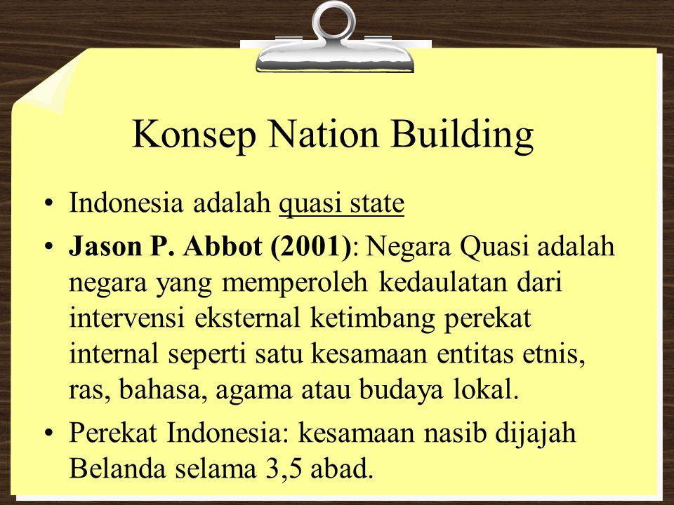 Konsep Nation Building