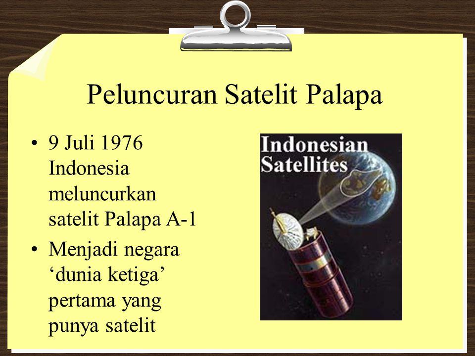Peluncuran Satelit Palapa