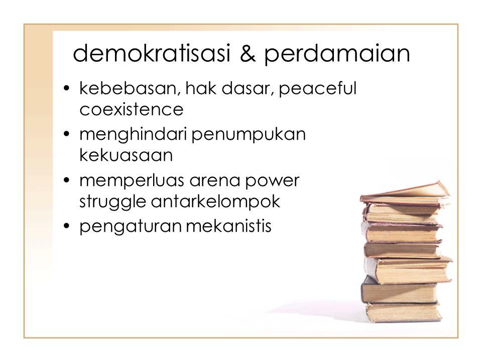 demokratisasi & perdamaian