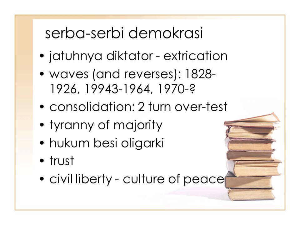 serba-serbi demokrasi