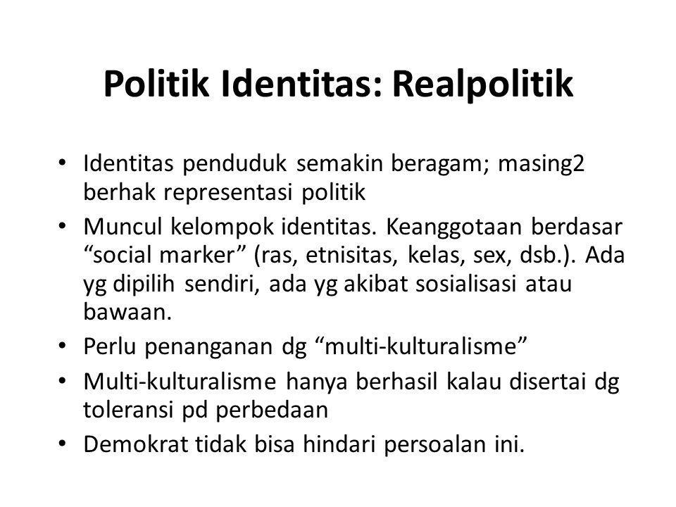 Politik Identitas: Realpolitik