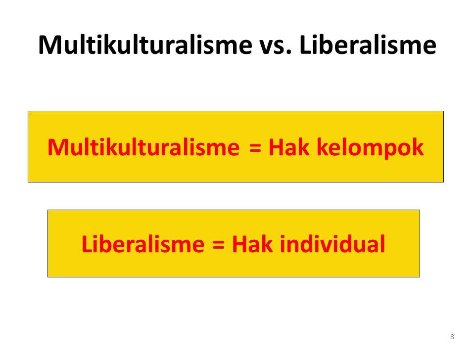 Multikulturalisme vs. Liberalisme