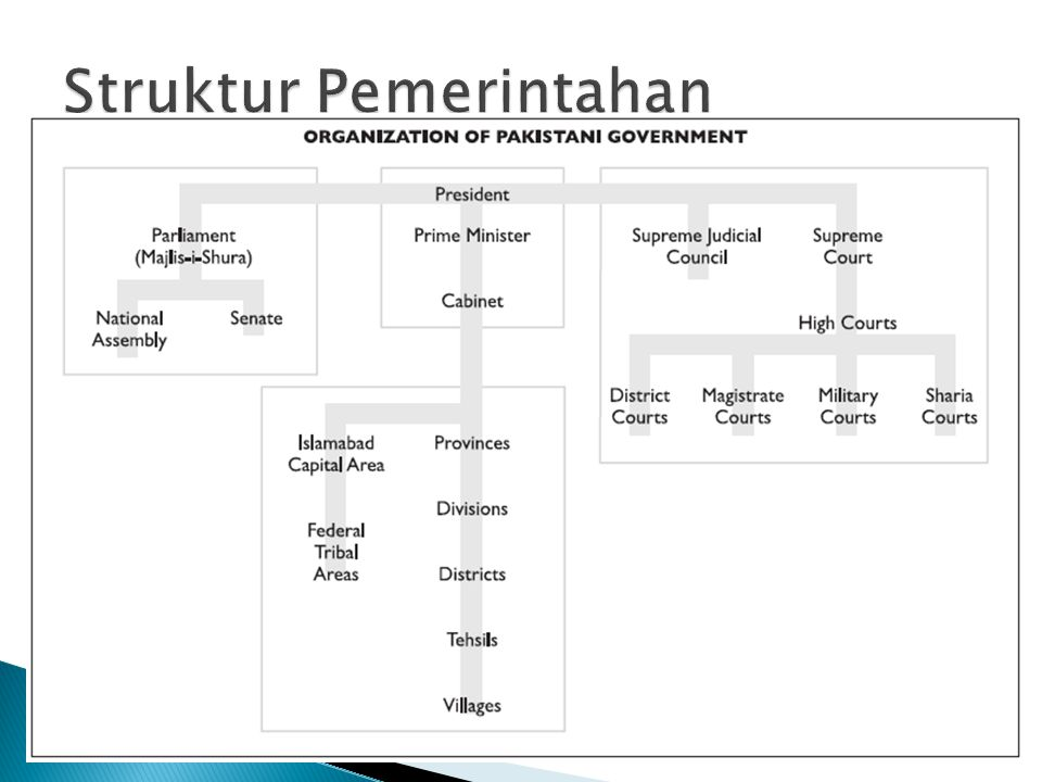 Struktur Pemerintahan