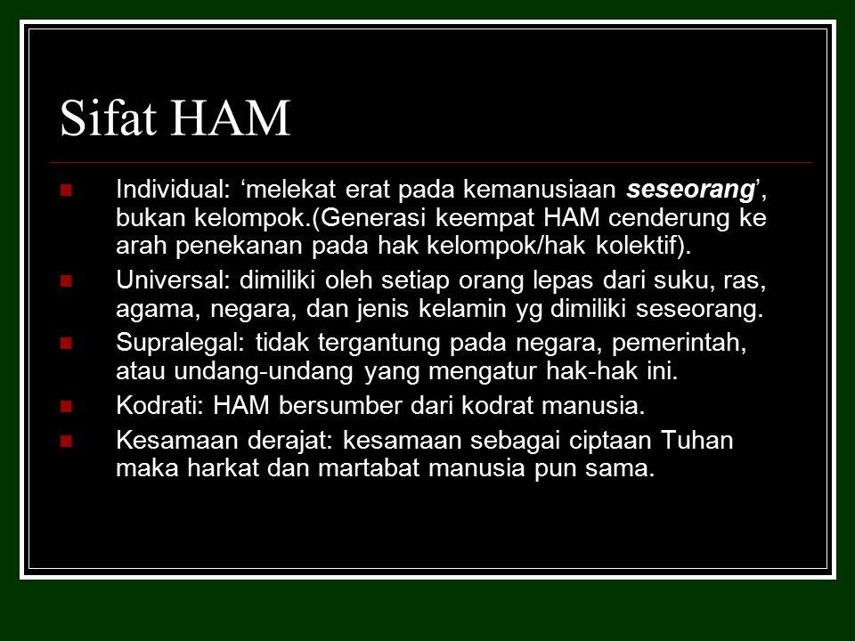 Sifat HAM
