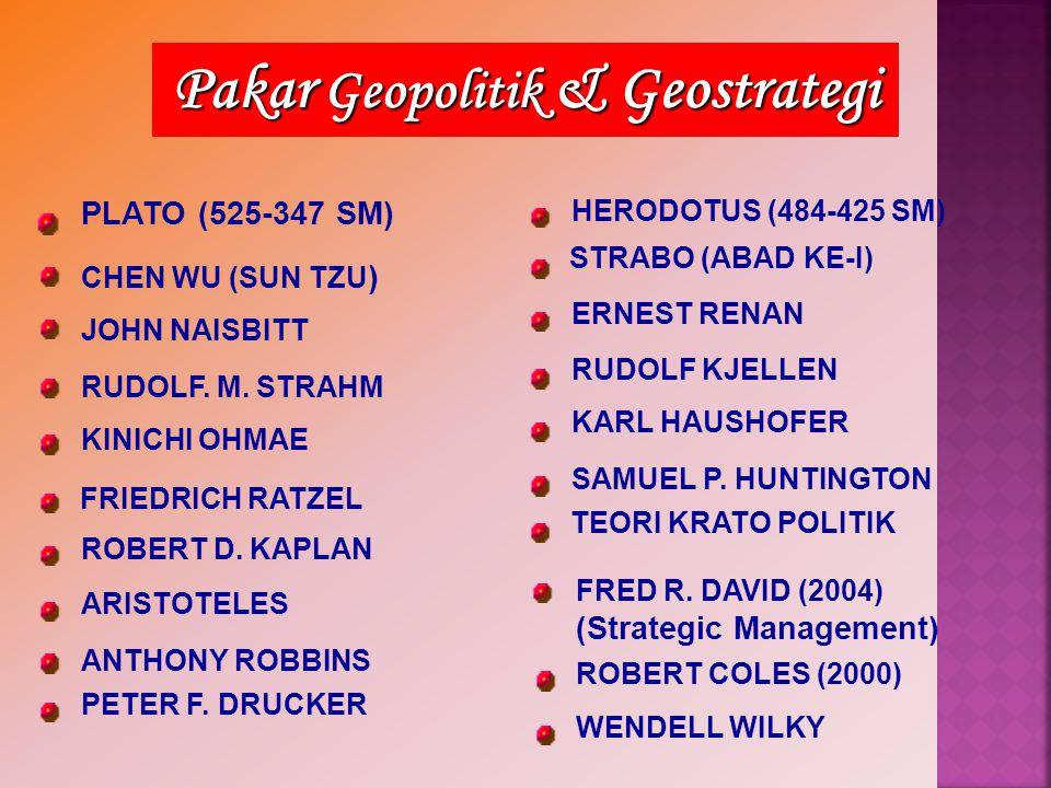 Pakar Geopolitik & Geostrategi