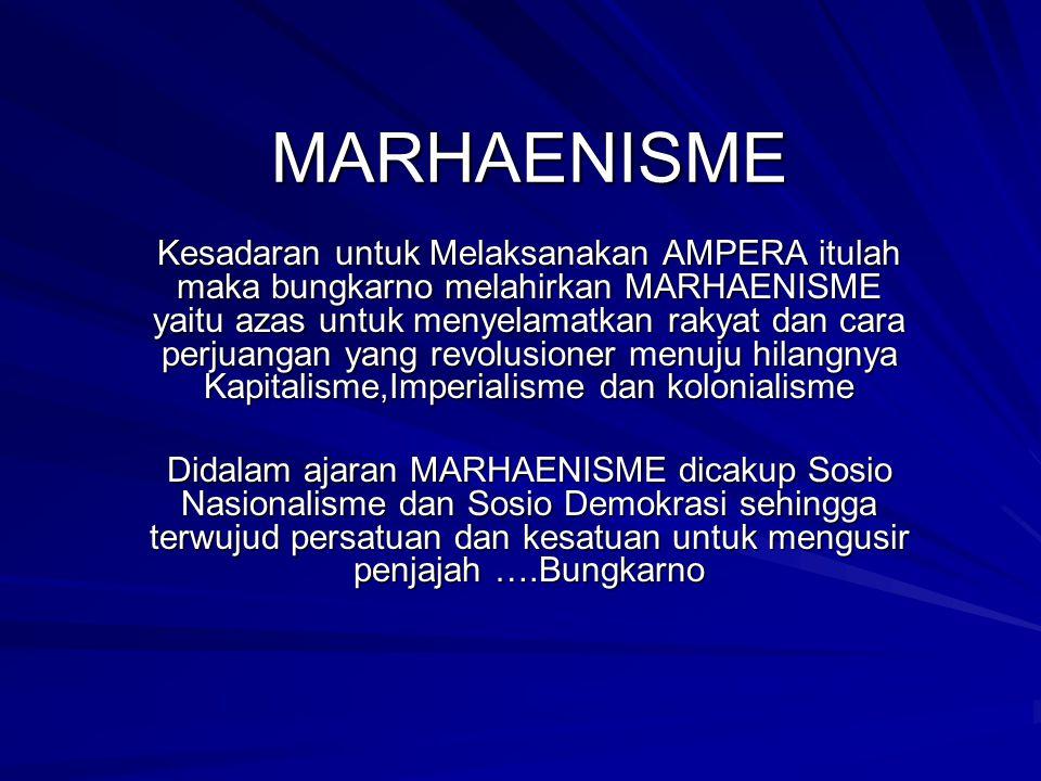 MARHAENISME