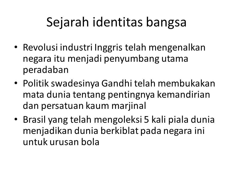 Sejarah identitas bangsa