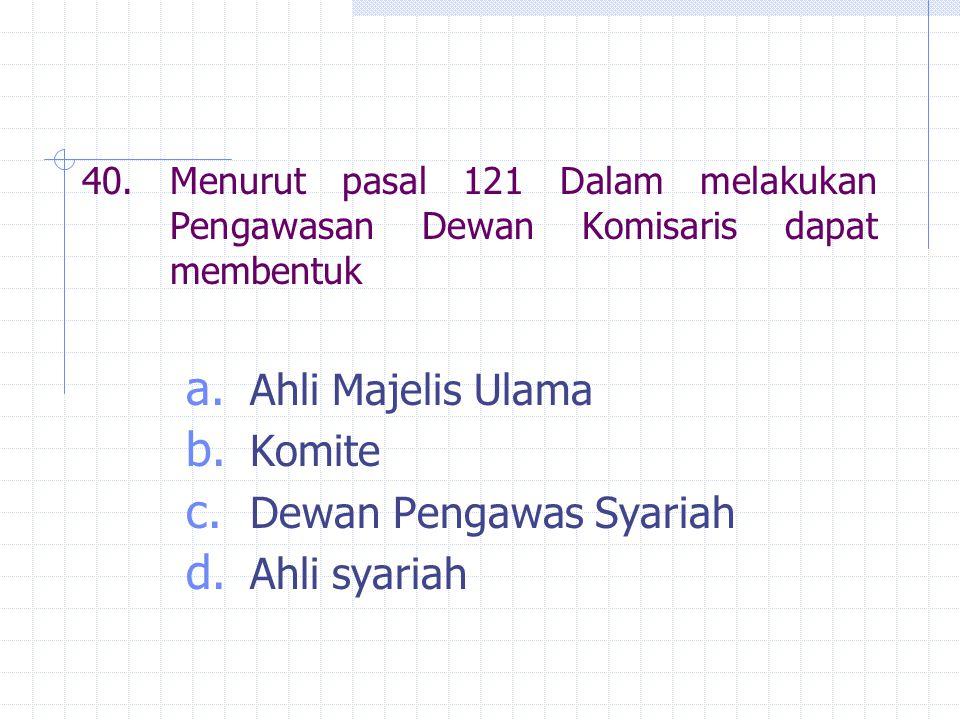 Dewan Pengawas Syariah Ahli syariah