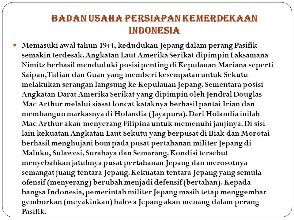 BADAN USAHA PERSIAPAN KEMERDEKAAN INDONESIA