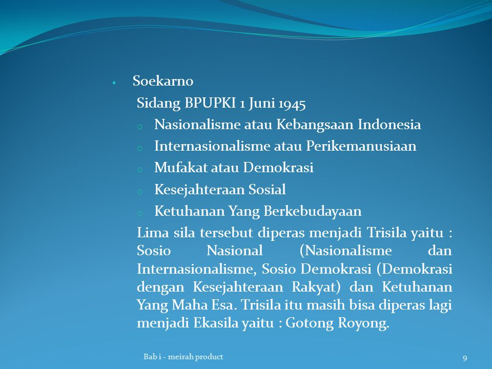 Nasionalisme atau Kebangsaan Indonesia