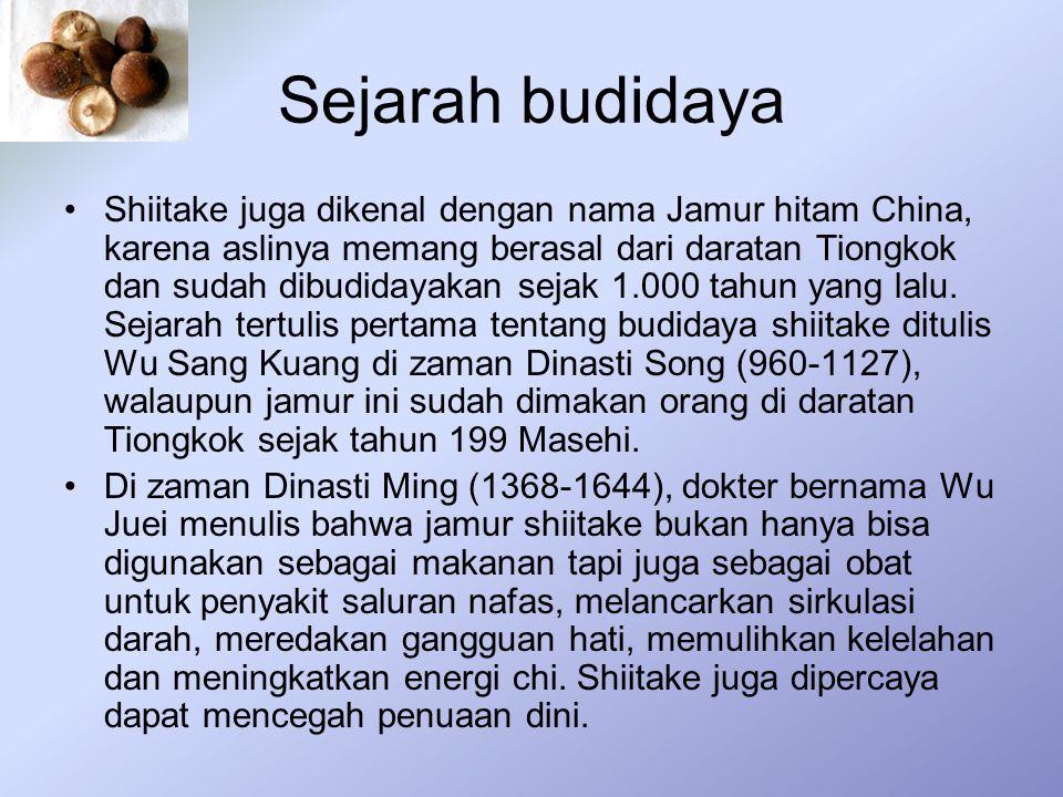 Sejarah budidaya