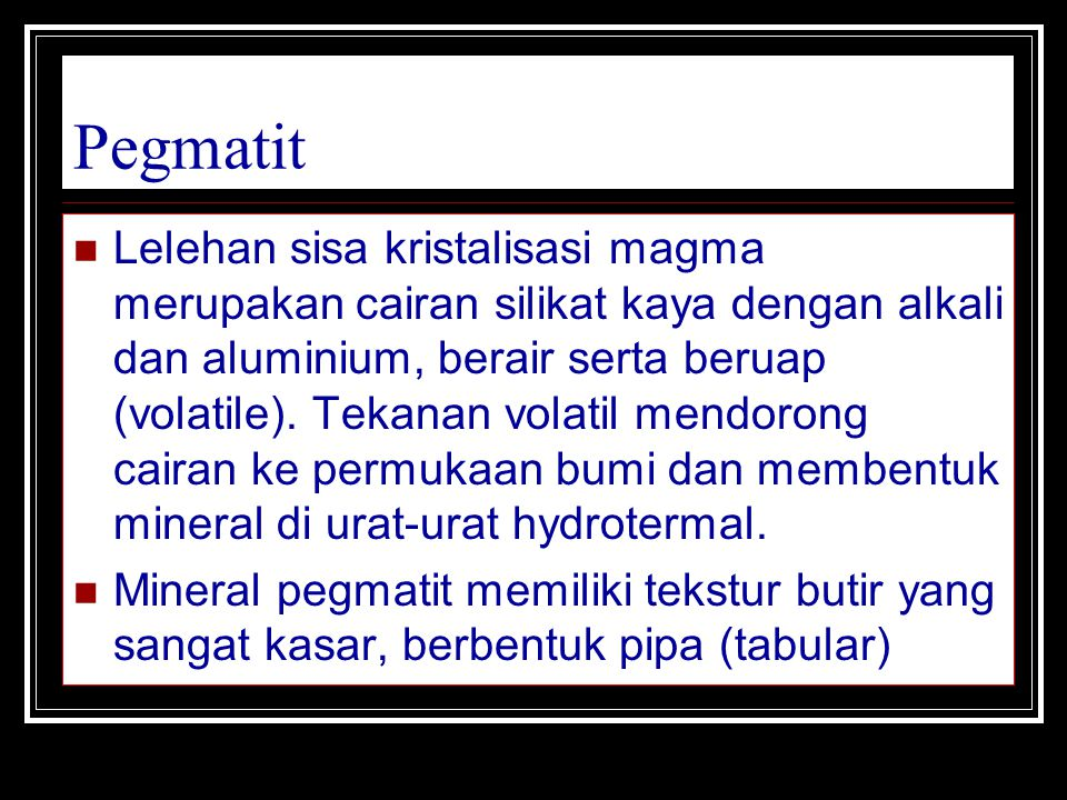 Pegmatit