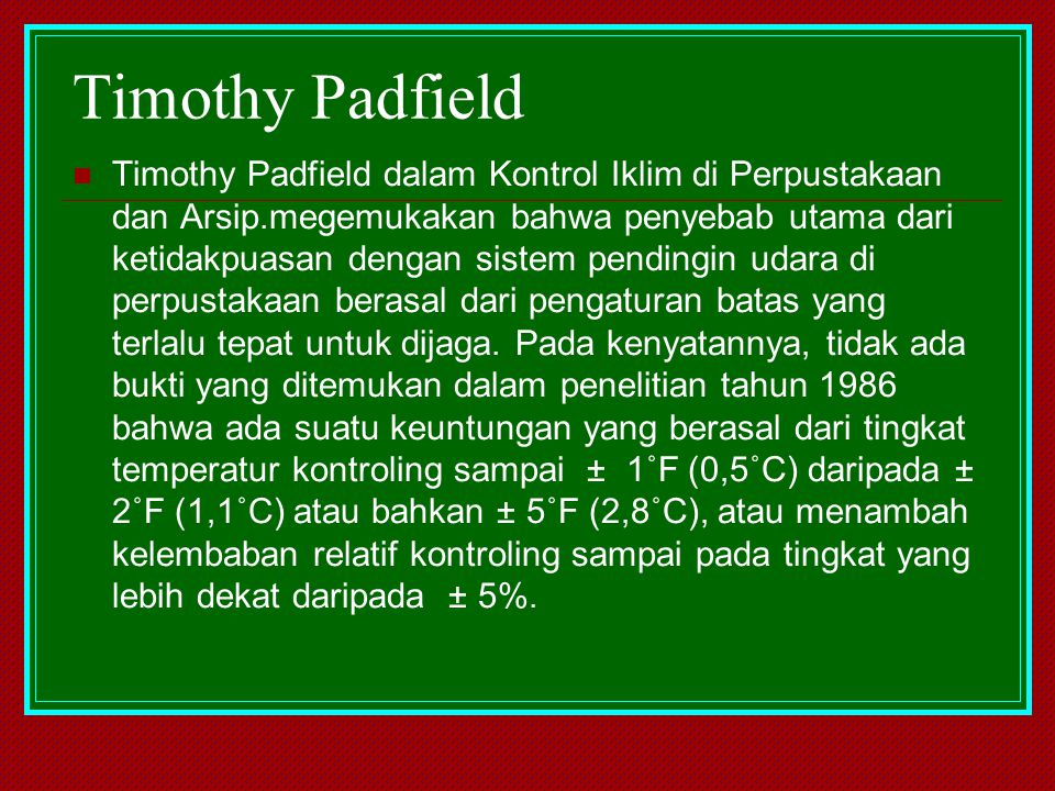 Timothy Padfield