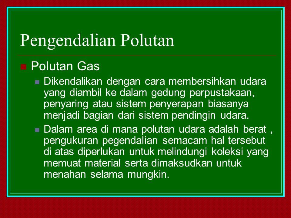 Pengendalian Polutan Polutan Gas