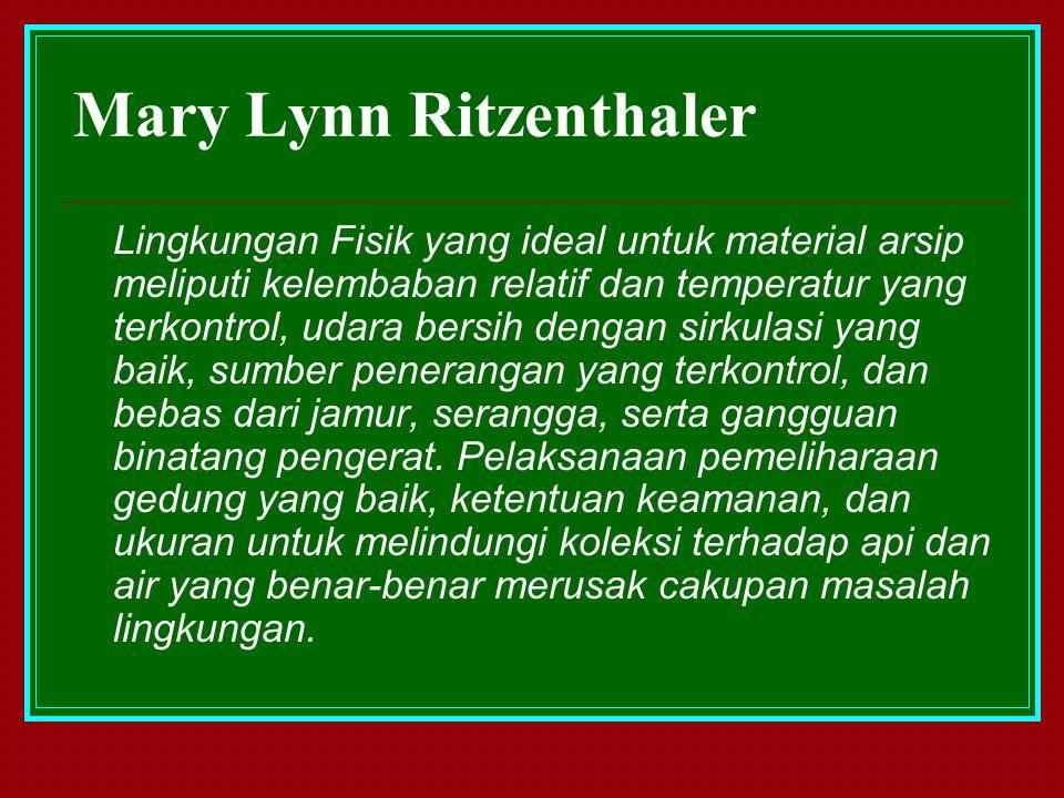 Mary Lynn Ritzenthaler