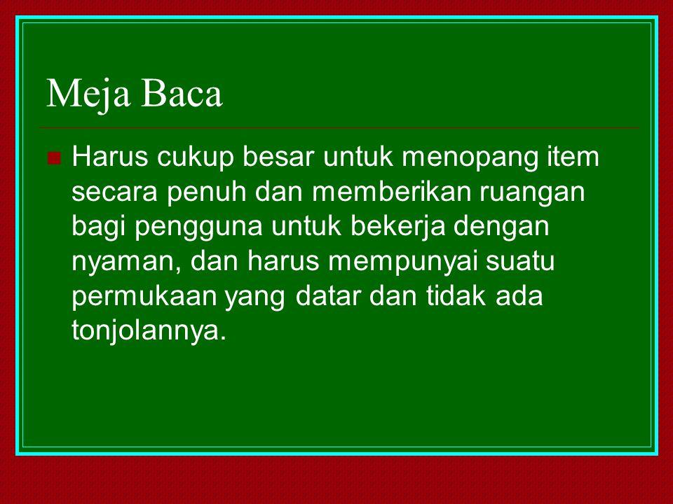 Meja Baca