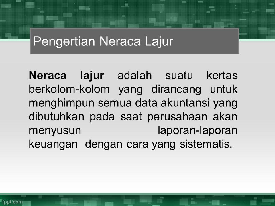 Pengertian Neraca Lajur