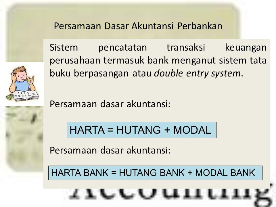 Persamaan Dasar Akuntansi Perbankan