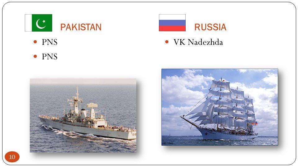 PAKISTAN RUSSIA PNS VK Nadezhda