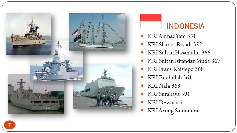 INDONESIA KRI Ahmad Yani 351 KRI Slamet Riyadi 352