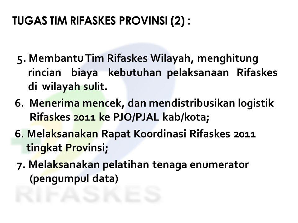 TUGAS TIM RIFASKES PROVINSI (2) :