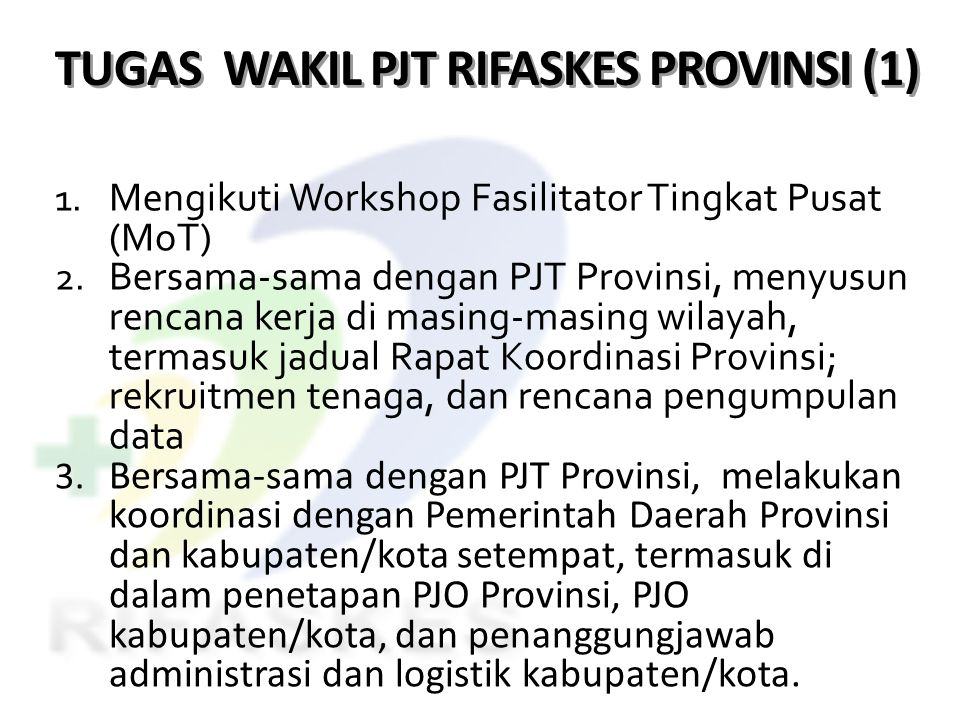 TUGAS WAKIL PJT RIFASKES PROVINSI (1)