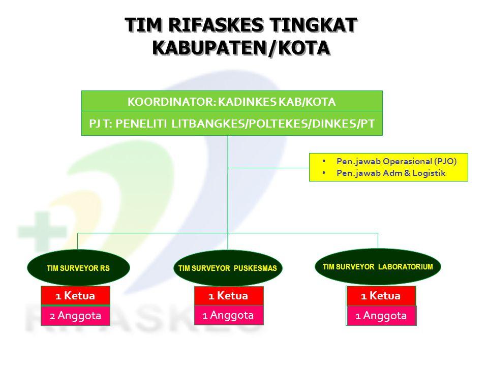 TIM RIFASKES TINGKAT KABUPATEN/KOTA