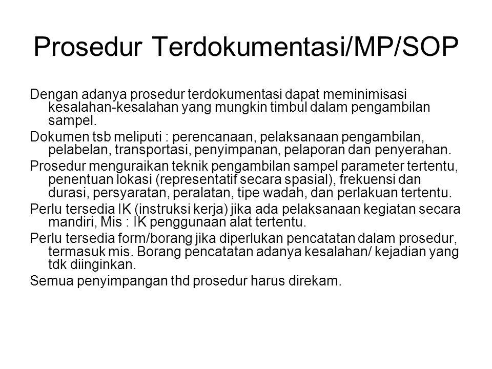 Prosedur Terdokumentasi/MP/SOP