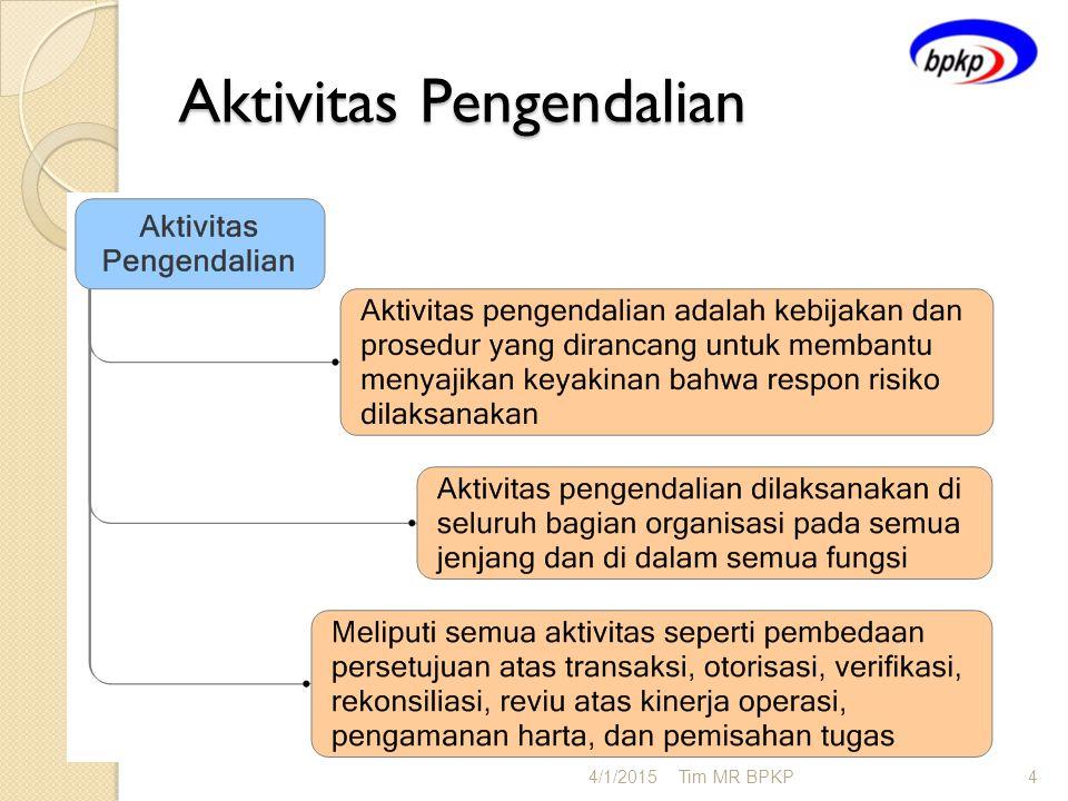Aktivitas Pengendalian