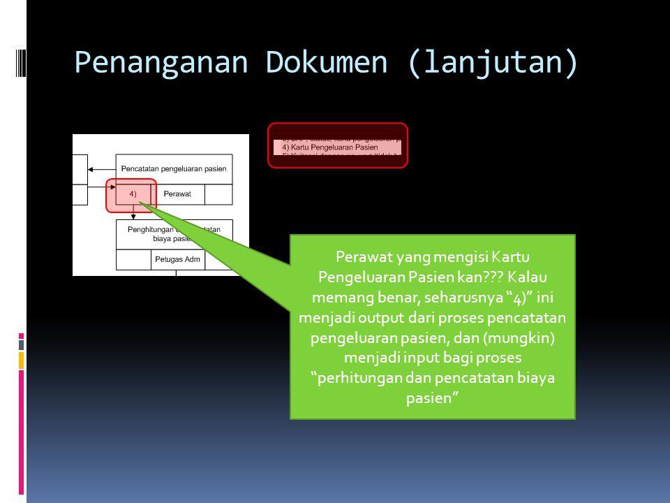 Penanganan Dokumen (lanjutan)