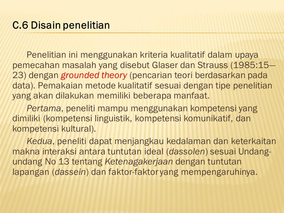 C.6 Disain penelitian