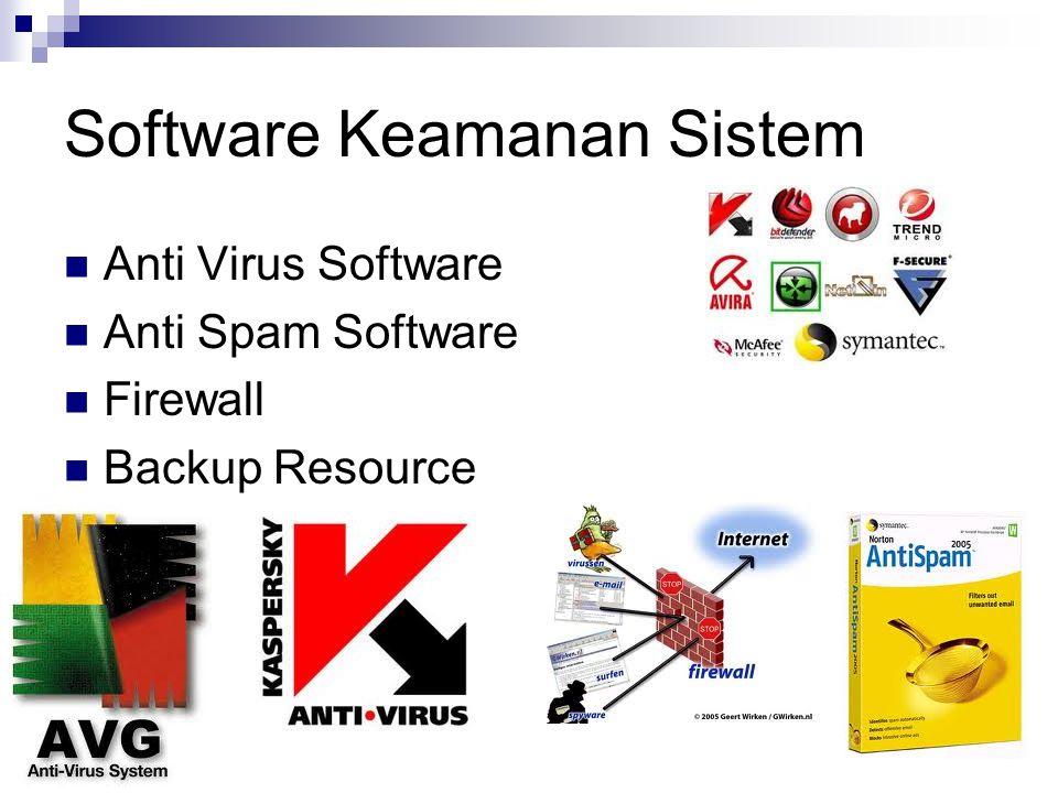 Software Keamanan Sistem