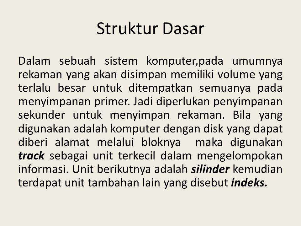 Struktur Dasar