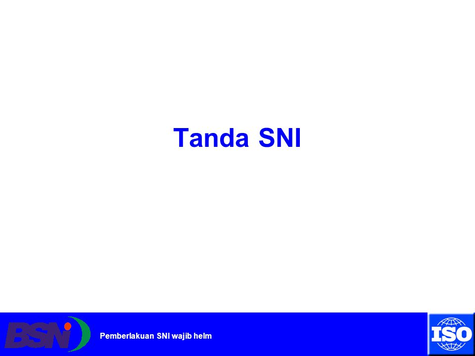Tanda SNI