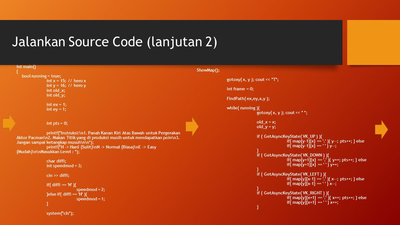 Jalankan Source Code (lanjutan 2)
