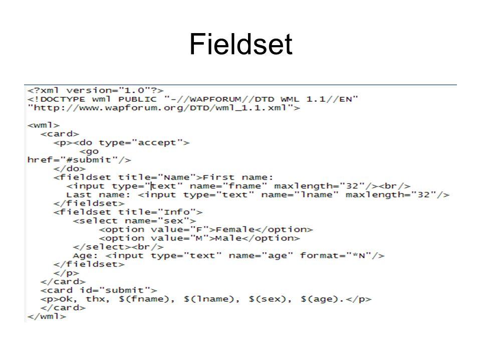 Fieldset