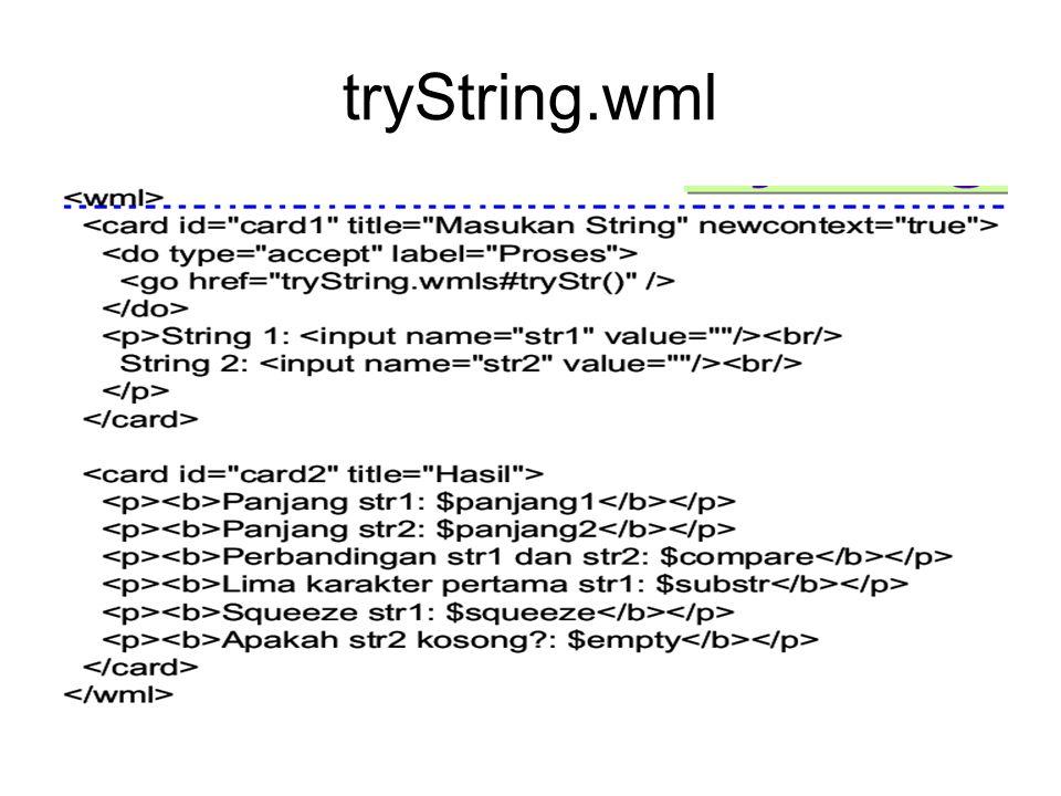 tryString.wml
