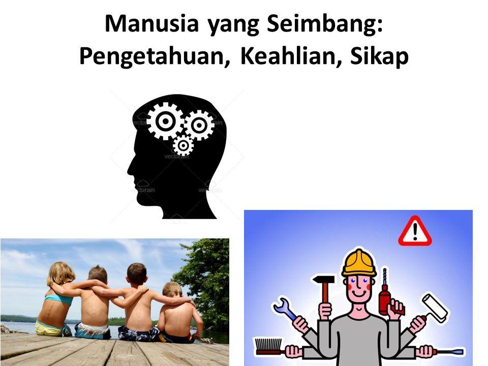 Manusia yang Seimbang: Pengetahuan, Keahlian, Sikap