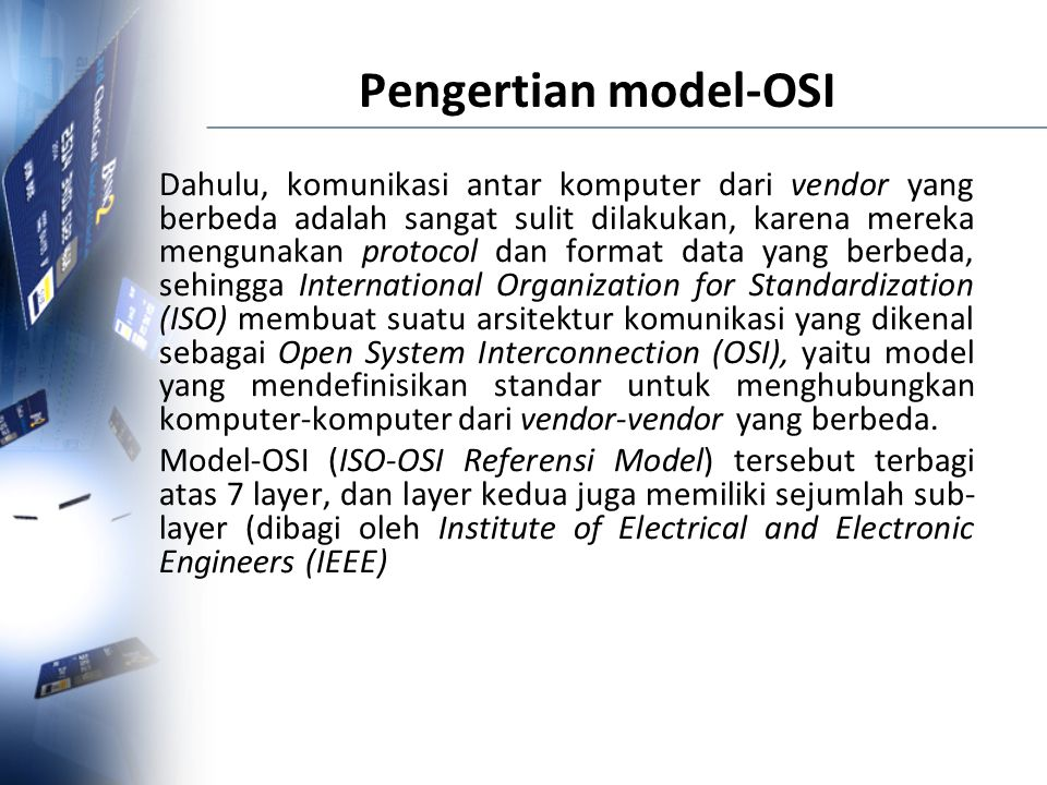 Pengertian model-OSI
