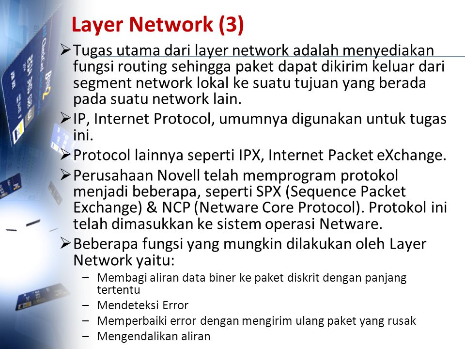 Layer Network (3)