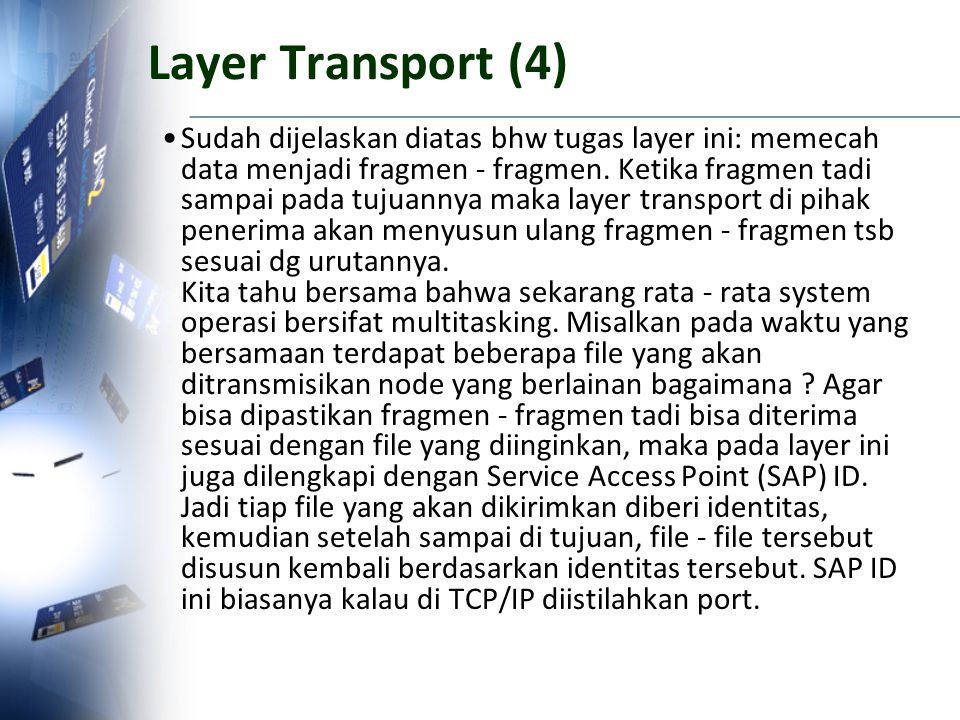 Layer Transport (4)