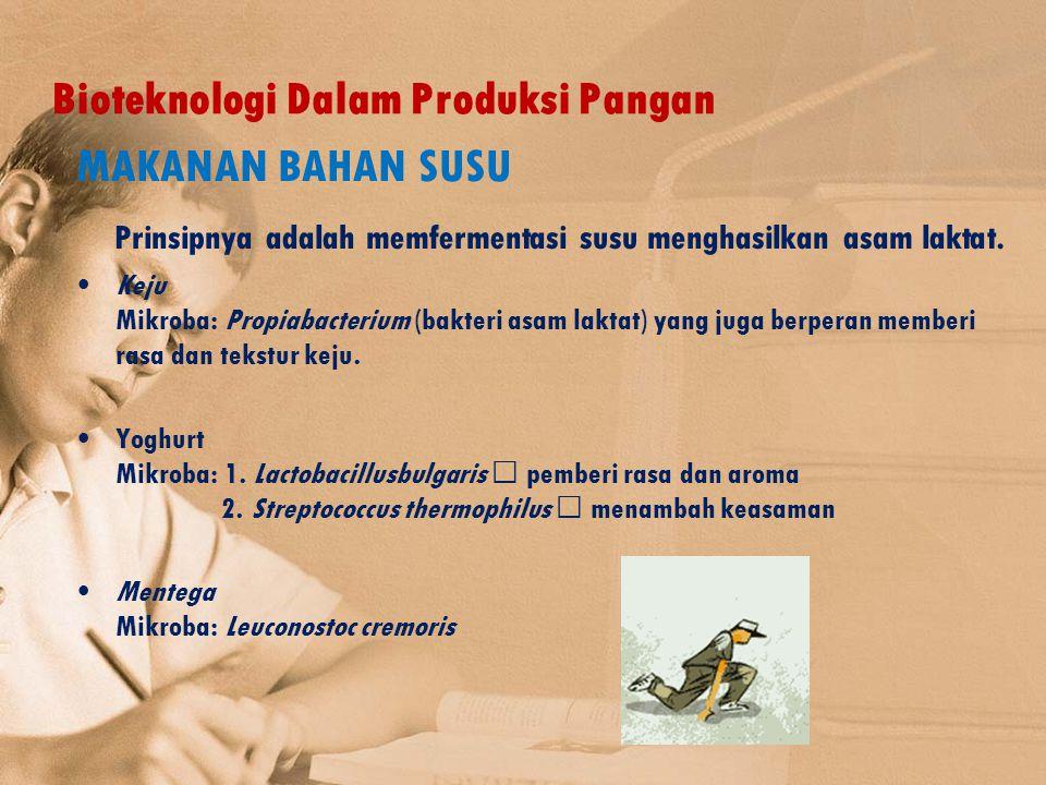 Bioteknologi Dalam Produksi Pangan