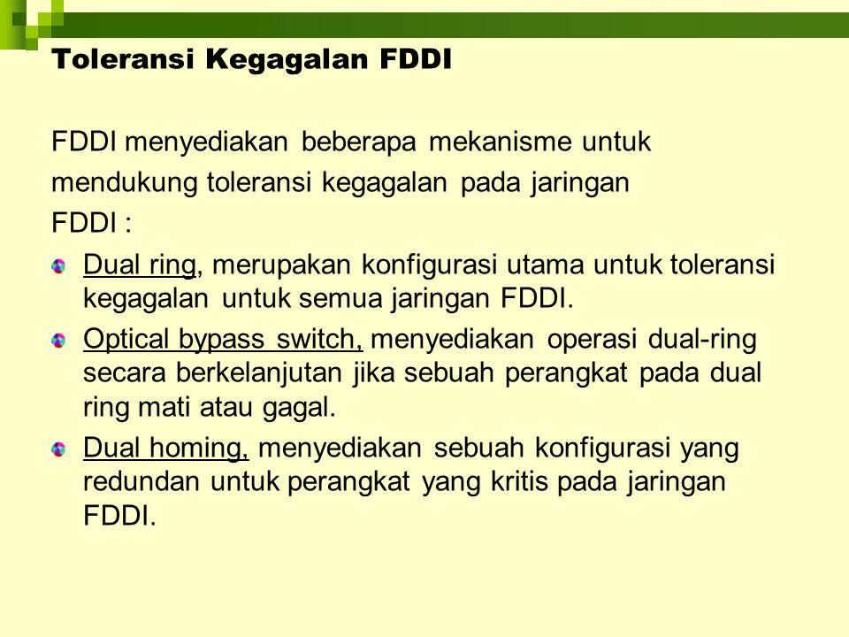 Toleransi Kegagalan FDDI