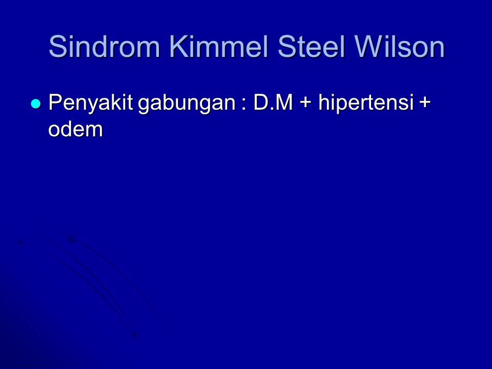 Sindrom Kimmel Steel Wilson