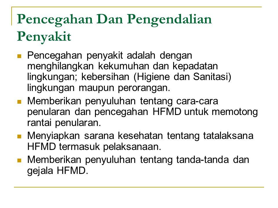 Pencegahan Dan Pengendalian Penyakit